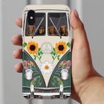 Dachshund Hippie Bus iPhone 7 Case