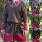 Man Retro Medieval Shirt Pirate Viking