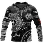 Viking Odin Tattoo 3D Printed Men hoodies