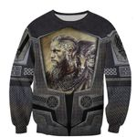 Viking God hoodies 3D