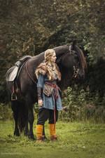 Viking Fur Shoulder Cape