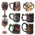 Mug Stainless Steel Viking