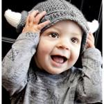 Baby Viking  Winter Hat