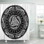 Shower Curtain Viking