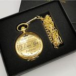 Pocket Watch Chain To My Son