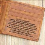 Wallet for Grandson