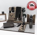 Personalized Air Force gun rack and Docking station - FREE SHIPPING!