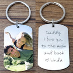 Personalized Memorial Keychain