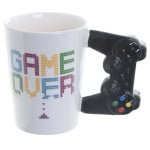 380mL Game Over Coffee Mug 3D Game Controller Handle Mug