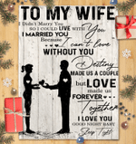 To My Wife I Didn't Marry You - Blanket