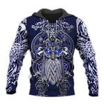 Viking Warrior 3d hoodie
