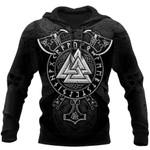 Viking Symbols Tattoo 3D Printed  hoodies