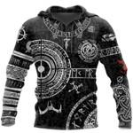 Viking Odin Tattoo 3D  hoodies