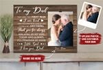 Personalized Photo Holder Father Day gift