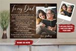 Father's Day gift from Daughter Personalized Photos Holder