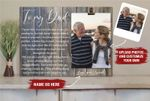 Personalized Photo Holder Father's Day gift from Daughter