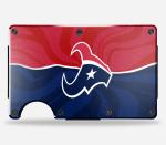 The Houston Texans Minimalist Metal Wallet