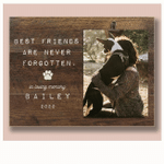 Pet Loss Gifts, Personalized Pet Memorial Frame, Cat Loss Gift, Dog Loss Gift
