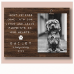 Pet Loss Gifts, Personalized Pet Memorial Frame, Cat Loss Gift, Dog Loss Gift  Pet Bereavement