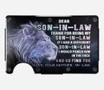 SON-IN-LAW - Blocking Metal Wallets