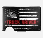 Truck Driver - Metal Wallets