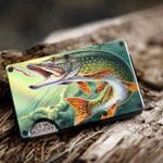 Pike fishing - Metal Wallets