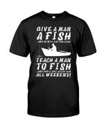 Give a man a fish and he will eat for a day teach a man
