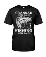 Grandad is my name Fishing is my game