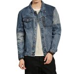 Fashion Washed Denim Jacket Hip Hop