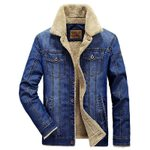 denim warm thick collar Jeans clothing coat Jackets