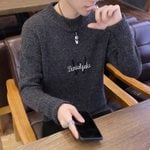 Long Sleeve Turtleneck Sweater Vintage Fashion