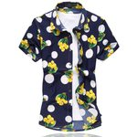 Printed Classic Casual Short Sleeve Shirts