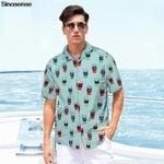 Beach Party Holiday Vocation Short Sleeve Shirts