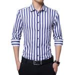 Casual Long Sleeved Social Business Dress Shirt