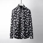 Printed Luxury Long Sleeve Party Dress Shirt