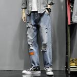 Fashion Casual Straight Jean Pants Streetwear