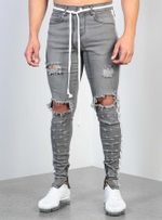 Ripped Hole Jeans Slim Pencil Denim Pants