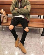 Fog Style High Street Justin Bieber Celebrity Style Jeans