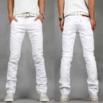Wear Wild White Jeans White Leisure Trousers