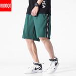 Black Casual Breathable Cotton Short Pants
