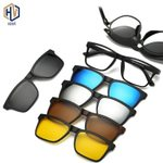 Fashion Clip On Frames Clips Magnetic Sunglasses