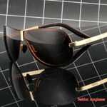 One piece  Polarized Sunglasses Driving Glasses