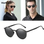 Vintage Polarized Sunglasses Retro Round