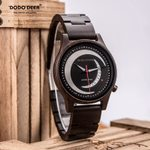 Wooden Timepieces Moon Stylish Quartz Watch