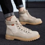 Nice Lace-Up Waterproof Ankle Boots