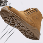 Waterproof Non-slip Wear-resistant Work Safety Shoes