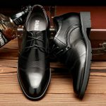 Brand Leather Dress Luxury Brand Oxford Shoes