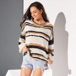 Boho Yellow Casual Beach Plus Size Elegant Sweaters