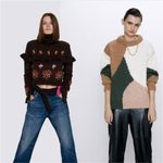 Stitching Fashion mbroidered Sweater Boho
