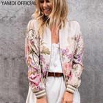 print floral jacket new runway cotton boho coat